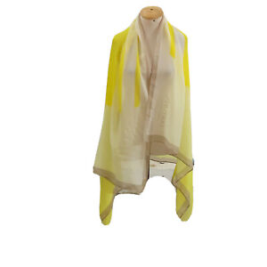 SOLID  SHAWL POLYESTER Scarf 68/43 In MADE IN CHINA  #A75