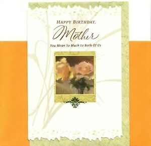 Happy Birthday Mom Always There From Both Of Us Rose Roses  Hallmark Card