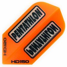 30 Pentathlon HD150 Slim Flights - Extra Stark 150 Micron - Orange