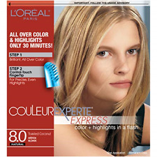 LOreal Paris Couleur Experte 2-Step Home Hair Color & Highlights Kit, Toasted
