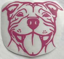 Staffordshire Bull Terrier Staffy Vinyl Decal Car Sticker Animal Dog Pet Window
