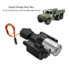 Speed Change Gear Box For WPL B-1 B-24 B-16 C-24 1/16 4WD 6WD RC Car DIY Parts