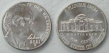 USA 5 Cents Nickel 2021 D unz.