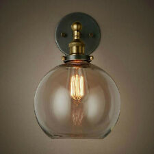 Loft Old Fashion Retro Style Vintage Style Antique Glass Wall Lamp Wall Sconce