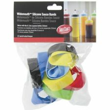 Tablecraft Silicone Squeeze Bottle Sauce Bands for 8, 12 Oz