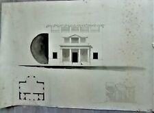 LAVIS-ENCRE-PLAN-PROJET-ARCHITECTURE-PALAIS-DEMEURE-R. VITTE-ATELIER-18-