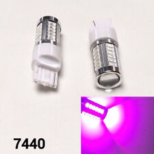 Rear Turn Signal LED Bulb Purple T20 w21w 7440 7441 992 B1 #12 For Dodge