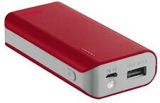 CHARGER PORTABLE POWERBANK 4400 RED - 21226