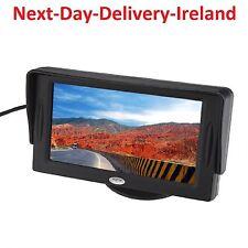 4.3 Inch LCD Rearview Reverse AV Monitor Screen for Car Backup Camera 4:3 16:9