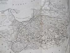 COPPER ENGRAVING POLISH PRUSSIA  COOKES GEOGRAPHY 1802
