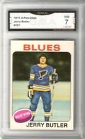 1975-76 O-Pee-Chee #167 Jerry Butler | Graded NM | St. Louis Blues