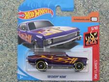 Hot Wheels 2018 #032/365 1968 Chevrolet Nova Violet Hw Flames