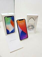Apple iPhone X Smartphone - Unlocked - Silver - 64GB - A1901