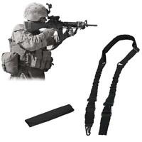 Tactical 2 Point Heave Duty Rifle Slings for AR 15 Airsoft Gun Sling Adjustable