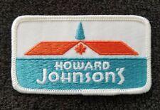 Howard Johnson's  Restaurant Vintage UNIFORM Collectors Patch