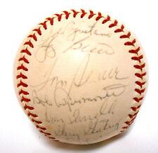 RARE Yogi Berra Nolan Ryan Tom Seaver Mets 1971 Team Autographed Signed Baseball