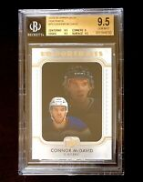 CONNOR McDAVID 2019-20 UPPER DECK PORTRAITS #P5 BGS 9.5 x3 9.5 SUBS OILERS NICE!