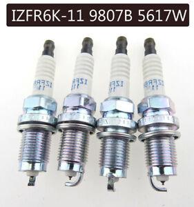 4Pcs Laser Iridium Spark Plug For Honda Accord Civic CRV Acura IZFR6K11 6994