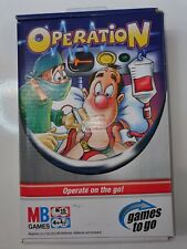 Travel Operation - Games To Go - Milton Bradley MB Hasbro | Age 4+ | Players 2-4