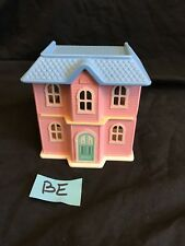 "Little Tikes DOLLHOUSE size Mini Play House Grand Mansion Replica 4"" Tall"