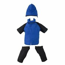 Casual Canine Snowsuit Nylon Winter Dog Coat Blue Black, X-Small (XS) 8-Inch NEW