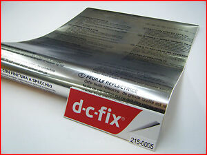 Mirror Effect DC FIX Silver 1.5mx45cm Self Adhesive Vinyl Contact Paper 215-0001