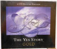 The YES Story + 2 CD Deluxe Edition + Gold BOX + Zusammenstellung 16 tolle Songs