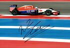 Will STEVENS SIGNED Photo Autograph Manor Marussia Driver F1 AFTAL COA USA GP