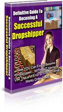 Successful Drop shipper eBook on CD Disc
