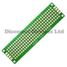20x80mm Double sided Copper Prototype PCB Matrix/Strip Epoxy Glass Fibre Board