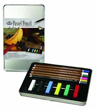 Royal & Langnickel Pastels & Pencils Drawing Art Tin Set