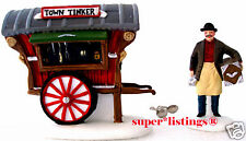 Dept. 56 Town Tinker Set of 2 Retired 1995 New England 56464 New in Box