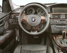 BMW OEM E90 E90N E91 E91N 3 Series 2006-2012 Walnut Wood Interior Trim Kit