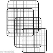 "Mini Grid Panel Shelving Cubicle Binning Store Display 10""x10"" Lot of 48 New"