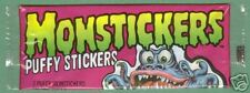 1979 Topps MONSTICKERS Unopened Pack