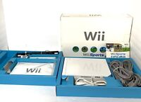 Nintendo Wii White Game Console Bundle Gamecube Compatible Box + Wii Sports Game