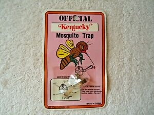 """Vintage """" NOS """" Official Kentucky Mosquito Trap Novelty Item """" GREAT COLLECTIBLE"""