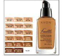 Avon True Colour Flawless Liquid Foundation - Warm Ivory
