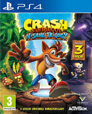 Videogioco PS4 Crash Bandicoot N.Sane Trilogy 3 EU Giochi IT Sony Playstation 4