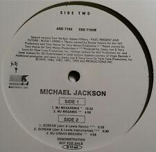 """AED 7192 Michael Jackson 12"""" LP Vinyl MJ Megaremix Scream NEW HTF Rare"""