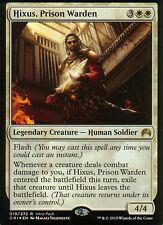Hixus, prison Warden foil-versión 2 | nm | Promo | Magic mtg