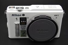 Nikon 1 AW1 14.2 MP 3″ screen DIGITAL CAMERA WHITE - BODY