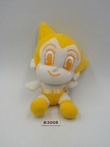 "Astro Boy B3008 Mighty Atom Yellow Mascot Plush 5"" Toy Doll Japan Tezuka Osamu"