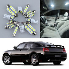 NEWEST Deluxe White Light Interior LED Package 7x for Dodge Charger 2006-2010 L6