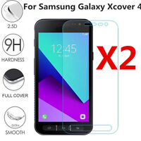 9H+ Real Tempered Glass Screen Protector For Samsung Galaxy Xcover 4 1/2 Pcs