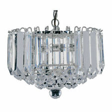 Searchlight Crystal Modern 4-6 Ceiling Lights & Chandeliers