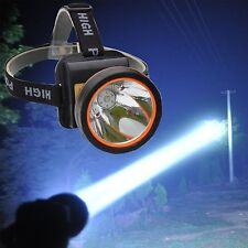 Rechargeable LED Headlamp Outdoor Waterproof Headlight Great for Camping Hunting