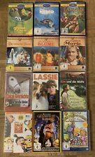 12 Kinderfilme DVDs, Disney, Märchen, Lassie u.a., top!