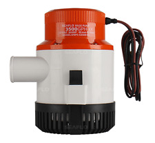 *New Marine Bilge/Sump Pump 3500Gph 12v Unlike Rule 3700gph -4000Gph-4700Gph