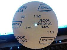 """Norton 35068  Durite 7"""" X 5/16"""" floor sanding discs  40 grit  H425   (25 pk.)"""